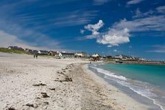 Inisheer island. From the Aran Islands, county Clare, Ireland Stock Photography