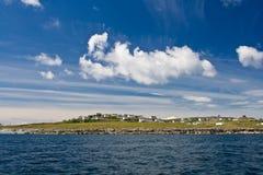 Inisheer Island. Landscape of Inisheer Island, one of three Aran Islands, Ireland Royalty Free Stock Image