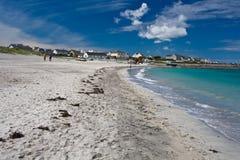 Inisheer island. From the Aran Islands, county Clare, Ireland Royalty Free Stock Photography