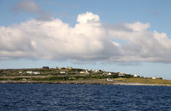 Inisheer village, Aran islands Stock Image