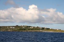 Inisheer village, Aran islands Stock Image