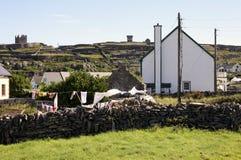 Inisheer village, Aran islands Royalty Free Stock Images