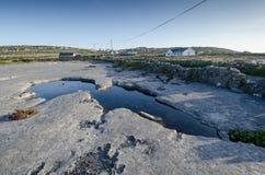 Inishmaan, aran νησιά, connemara, Ιρλανδία Στοκ Φωτογραφίες