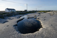 Inishmaan, aran islands, connemara, ireland Royalty Free Stock Images