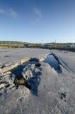 Inishmaan, aran islands, connemara, ireland. Lake on the aran islands, Ireland Royalty Free Stock Photo
