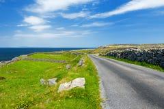 Inishmore ή Inis Mor, ο μεγαλύτερος των νησιών Aran Galway στον κόλπο, Ιρλανδία Στοκ φωτογραφίες με δικαίωμα ελεύθερης χρήσης
