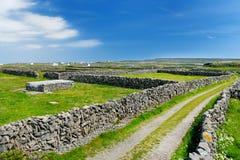 Inishmore ή Inis Mor, ο μεγαλύτερος των νησιών Aran Galway στον κόλπο, Ιρλανδία Στοκ εικόνες με δικαίωμα ελεύθερης χρήσης