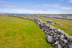 Inishmore, Aran islands, Ireland. Landscape of Inishmore, Aran islands, Ireland Royalty Free Stock Photography