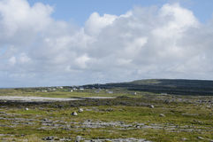 Inishmore panorama, Aran Islands, Ireland, Europe royalty free stock photos