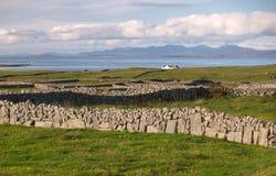 Inishmore scenery stock image