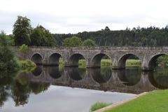 Inistioge co 基尔肯尼,爱尔兰,夏天2013年 免版税库存照片