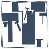 Initial bokstav T arkivbilder