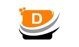 Initial D för teknologirörelsesynergi Royaltyfria Foton