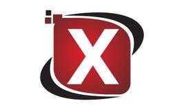 Initial X för teknologirörelsesynergi Arkivfoton