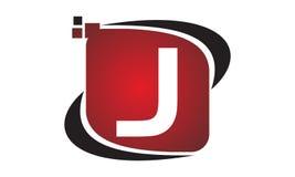 Initial J för teknologirörelsesynergi Royaltyfria Foton