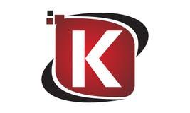 Initial K för teknologirörelsesynergi Royaltyfri Bild