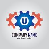 Initial Letter Logo for Transportation. Emblem or logo for a Transportation, Emblem logo Royalty Free Stock Photos