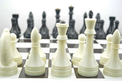 Initial position for chess combination Royalty Free Stock Image
