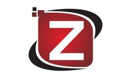 Initial Z för teknologirörelsesynergi Arkivbild