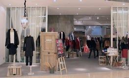Initialen shoppar i Hong Kong Royaltyfri Bild