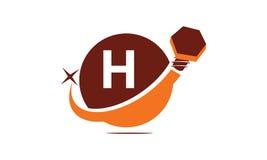 Initialt H för industriella lösningar Royaltyfria Foton