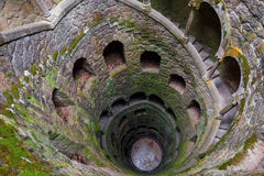 The Initiation well of Quinta da Regaleira royalty free stock images