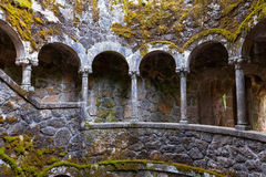 The Initiation well of Quinta da Regaleira Royalty Free Stock Photos