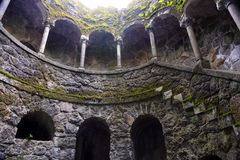 Initiation well in Quinta da Regaleira, Sintra Stock Photos