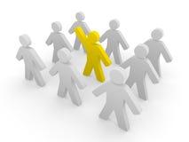 Initiative person Stock Photo