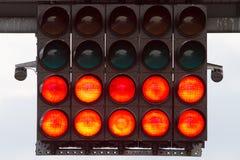 Inizi gli indicatori luminosi Fotografia Stock