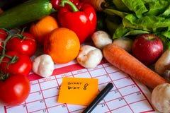 Inizi la dieta Fotografia Stock Libera da Diritti