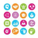 Inizi sulle icone Immagini Stock