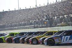 Iniziare la serie della tazza dell'allineamento NASCAR Sprint Fotografie Stock