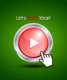 Iniziare un concetto di nuovo anno Fotografie Stock