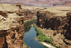 Inizio dell'orizzontale del Grand Canyon fotografie stock