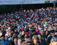 Inizio di mezza maratona di Kaiser Fotografia Stock