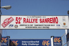 Inizio di Sanremo di raduno Immagine Stock