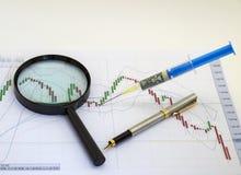 Injeção financeira fotos de stock