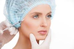 Injeção médica. Fotos de Stock Royalty Free