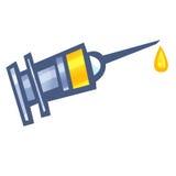 Injeção vacinal Imagem de Stock