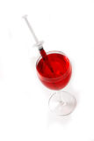 Inject alcohol Royalty Free Stock Photography