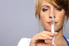 Injectie Stock Foto