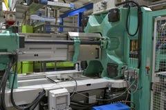 Injectieafgietsel Machine2 Royalty-vrije Stock Afbeeldingen