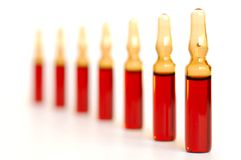 Injecties Royalty-vrije Stock Foto's