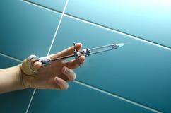 Injection dentaire d'anesthésie Image libre de droits