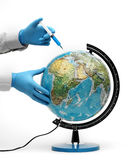 Injection of ecology Stock Images