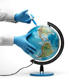 Injection of ecology Royalty Free Stock Photo