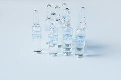 Injection liquids Royalty Free Stock Photos