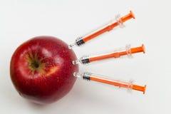 Injection médicale Equipme en plastique de vaccination d'isolement par médecine Images libres de droits