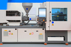 Injection molding machine Royalty Free Stock Photography